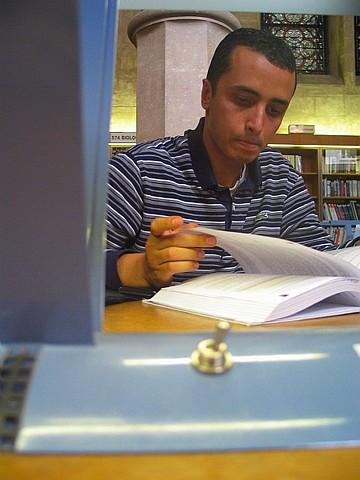 Auditeur à la bibliothèque du Cnam.